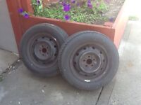 Brand New Firestone Tires on Rims