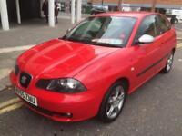 Seat Ibiza 1.9TDI 130 2006MY FR red 3 door, new mot