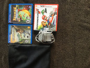 Nintendo 3DS and Ps Vita games