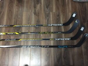 4 Mint brand new sticks !