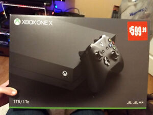 Xbox one x (2weeks old)