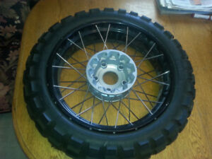 2007 R 1200 GS adventure Rims and tires .