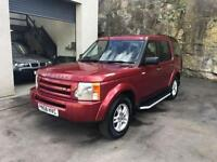2008 58 LAND ROVER DISCOVERY 2.7 3 TDV6 GS 5D 188 BHP DIESEL