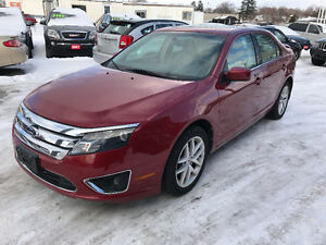 2010 Ford Fusion SEL Sedan Fully Loaded Only 84000 Km