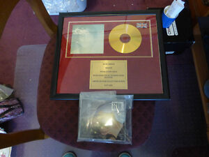 John Lennon Iimited Edition Collector CD Imagine - 24 ct Gold