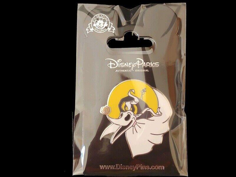 Disney Pin NBC Nightmare Before Christmas – Zero Flying Pumpkin Nose Jack & Moon