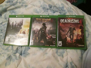 Dead Rising 4,Dead Rising 3,Dying light  on Xbox one