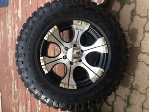 Goodyear duratrac's and rims