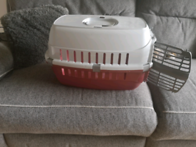 Small carrier for kitten/puppy