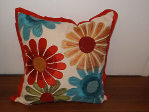 Twp Beautiful decorative pillows from Pier 1