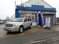 2010 Jeep Patriot 2.2CRD LIMITED ,89,000 MILES,FULL DEALER HISTORY,ONE OWNER *