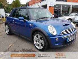 MINI CONVERTIBLE COOPER S, Blue, Manual, Petrol, 2006
