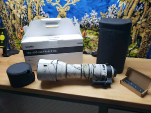 Sigma Sport 150-600mm Plus Extra's Canon