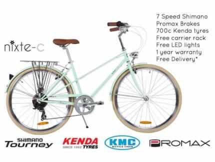NIXEYCLES Nixte-C (Unisex) 7 Speed Bicycle | Free Delivery