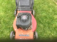 PETROL LAWN MOWER WIDE CUT
