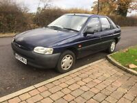 FORD ESCORT 1.6 1996 ONLY DONE 35k FROM NEW 1 LADY OWNER HISTORY FULL HISTORY. YEARS MOT. CLASSIC.