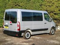 2013 (13) RENAULT MASTER SL28 SWB 5 SEAT WHEELCHAIR / DISABLED ACCESS MINIBUS