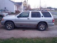 2002 Nissan Pathfinder Chilkoot With Entire Parts Truck 1750 OBO