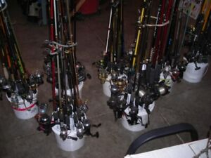 Fishing Gear, Rods,reels, salmon rods, downrigger, rods, fly rod