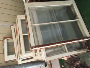 Various sized windows