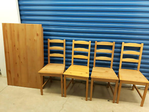 Ikea dinning set+delivery