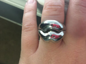 Genuine Miss Sixty Lips Ring (Never worn).