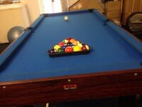 2 in 1 pool and table tennis table