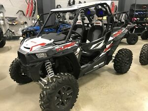 2016 Polaris RZR XP Turbo EPS Graphite Crystal with MB Quart Blu