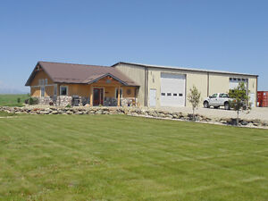 Acreage with House and Shop on Acreage (3.42 acres)