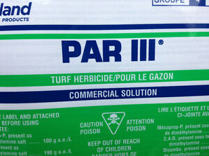 Par 3 weed killer, for all your weed needs!
