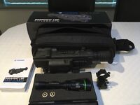 Pulsar Night Vision Scope and Infrared light.
