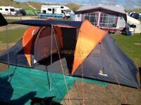 4 man tent full set up plus extas