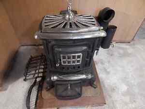 older wood burning stove