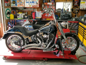 2007 Harley Fatboy lots of extras