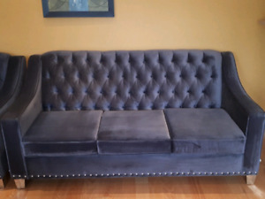 Sofa and arm chair