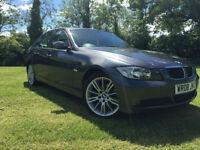 BMW 318 2.0TD 2008 ES FULL LEATHER M SPORT EXTRAS HPI CLER FSH