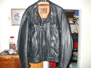 Never worn XXL leather motorcycle jacket Stratford Kitchener Area image 1