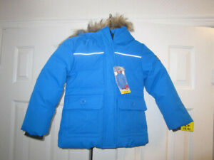 Girls size 5/6 eckored Down Jacket, BNWT - REDUCED to $38.00