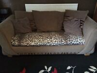 Metal sofa bed & chair FREE