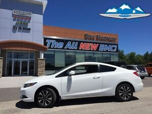 2013 Honda Civic Cpe EX   LOCAL TRADE, BLUETOOTH, CERTIFIED/EMIS