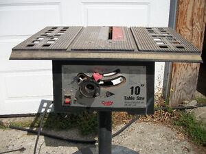 """Table saw 10"""" 10amp"""