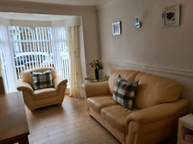 2 seater and chair settee