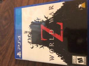 World war z ps4 used great condition