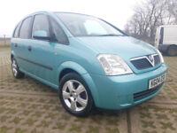 Vauxhall/Opel Meriva 1.6i 16v ( a/c ) 2004MY Energy