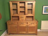 Birch dresser / sideboard / unit