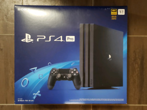 Playstation 4 Pro 1TB Newest Version