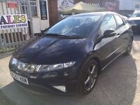 HONDA CIVIC 2.2 DIESEL MANUAL ICTD. ES 2007 PANORAMIC ROOF