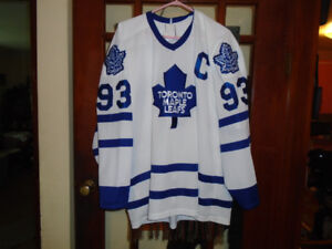 """Toronto Maple Leaf Jersey- """"Gilmour""""- Asking Only $150."""