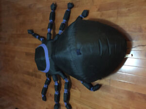 INFLATABLE SPIDER for Halloween