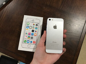 Silver 16gb iPhone 5s